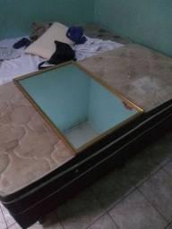 Cama solteiro + espelho