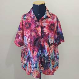 Camisa feminina GG - Gatabakana