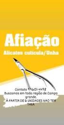 Afiaçao de Alicate Cutícula