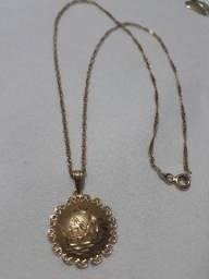 Cordão de ouro 18k - feminino