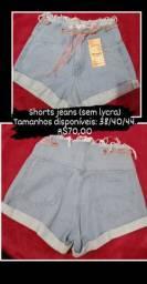 Shorts Jeans (sem lycra) novos