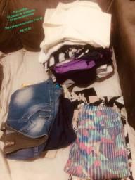 Lote de roupas femininas - 30,00