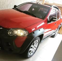 Strada Adventure 1.8 2014/2015 único Dono, 4 pneus novos