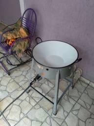 Vendo fogão com tacho N°22 R$:300