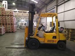 Empilhadeira  hyster  2250 ton *PARCELO*