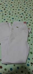 Calça branca por 35 reais número 42