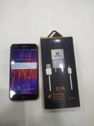 Celular LG K10 2017 32gb Ram 2gb com Carregador Divido 3x