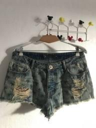 Título do anúncio: Short jeans Coqueiros Animale