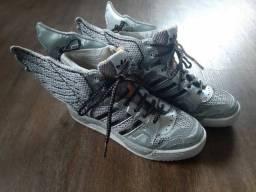 Tênis Adidas Edição Limitada Geremy Scott NewYork - Paris
