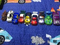 9 Carrinhos de Ferro Mcqueen ( filme cars - Disney)