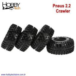 Pneus Rc Crawler 2.2 em borracha