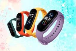 Pulseiras Coloridas para Xiaom Mi Band 3, 4 e 5