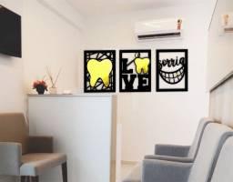 Trio de Quadros Odontologia