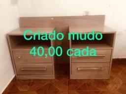 02 Criados Mudo - 40,00 cada
