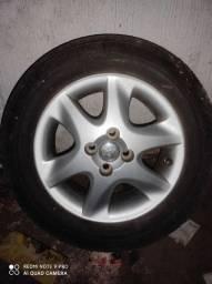 Roda original Toyota corolla avulsa com calota
