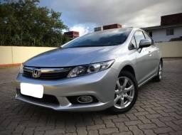 Honda Civic Exs 1.8 12/13 aut teto solar