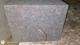 Vendo caixa de som pra carro de 10 polegadas de 200 RMS ZAP *