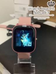 Novo P8 lançamento rosa relógio feminino 2020 top
