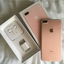 IPhone 7 Plus 32 gb seminovo rosa ( Troque de IPhones)