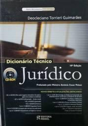 Livro Dicionário Técnico Jurídico 14a edição