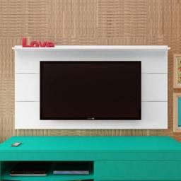 Painel Artely Slim com prateleira, ideal para TVs até 60 Polegadas - Entrega Imediata;