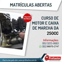 Curso de Motor e Caixa de Marca da 250cc - P .R. O. F. I .A .U .T .O .S