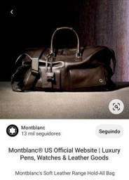 Montblanc's Soft Leather Range Hold-All Bag