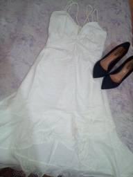 Vestido branco novo, ano novo