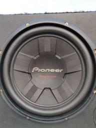 Alto falante pioneer grave 311 subwoofer + caixa