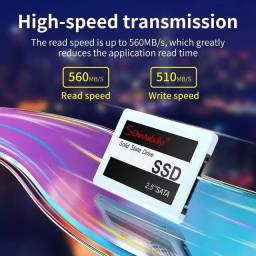 SSD 120GB 2.5 Sata 3 para notebook e Desktop - Novo - até 12x no cartão