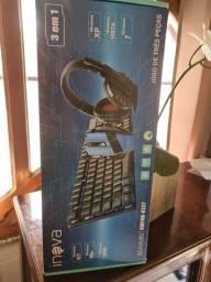 Kit Gamer Inova 3 em 1