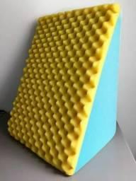 Encosto Suave Travesseiro Triangular Rampa Almofada Anti Varizes Anti Refluxo