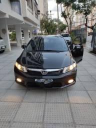 Honda Civic LXR flexone 2.0 câmbio borboleta multimídia tv GPS