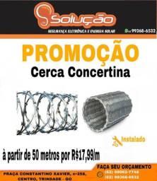 Promoção de cerca concertina