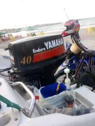 Vendo motor Yamaha 40.2t enduro todo revisado