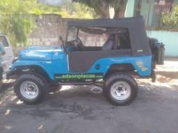 Jeep Willys 67 mecânica original documento OK