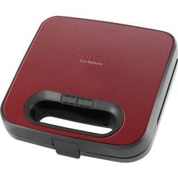 Sanduicheira inox nova , na caixa inox com chapa vermelha