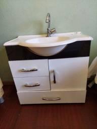 Título do anúncio: Gabinete Banheiro com Pia e torneira
