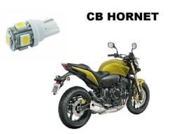 Lâmpada LED T10 Pingo 12V Luz Branca Aplicação Placa CB Hornet