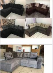 Sofás novos e usados vários modelos