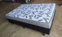 Título do anúncio: cama box entrego com 10 cm de espuma novas