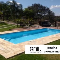Título do anúncio: JA - Piscina 800 x 350 x 130m - piscina de fibra com 15 anos de garantia