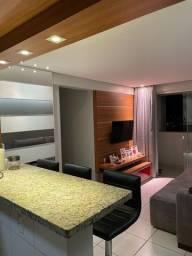Apartamento 2 quartos mobiliado e decorado no Setor Negrão de Lima