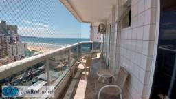 Cobertura para alugar com 3 dormitórios em Ocian, Praia grande cod:685