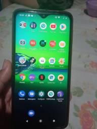 Vendo Motorola Moto G 8 Play 3 mês de uso