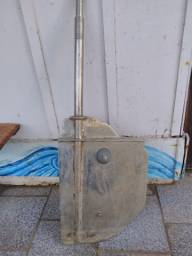 Leme inox para barco