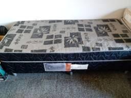 CAMA BOX SOLTEIRO PRETA