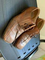 Sapato de couro Democrata