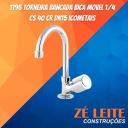 Título do anúncio: Torneira Bancada Bica Movel 1195 1/4 Cs 40 Cr Dn15 Icometais