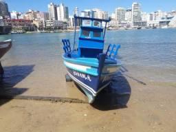 Título do anúncio: Vendo barco de pesca com motor a diesel,Novo.